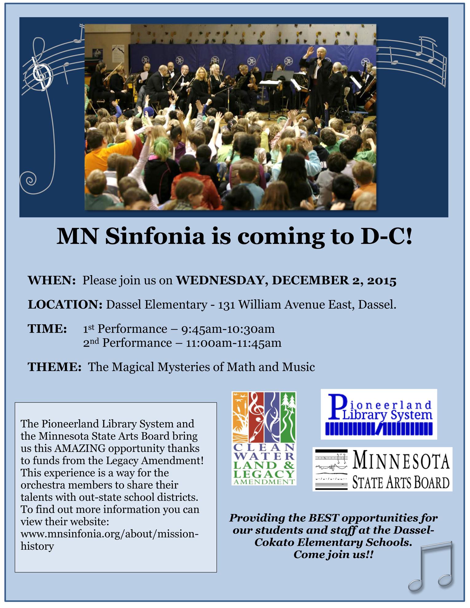 MNSinfonia Poster