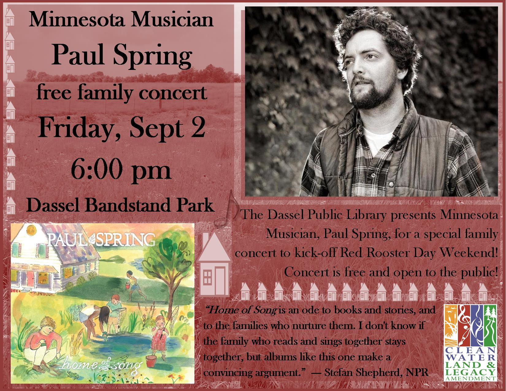 Paul Spring Poster--Dassel